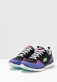 Skechers Sport - FLEX APPEAL 3.0 - Zapatillas - black/purple/pink - 4