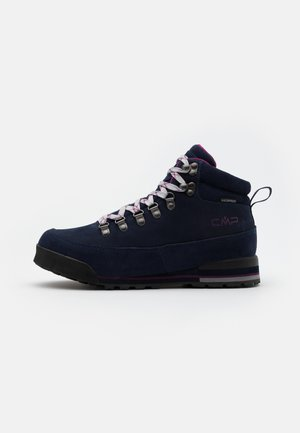 HEKA SHOES WP - Fjellsko - blue/berry