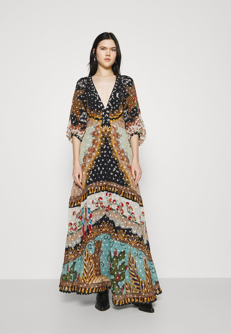 Farm Rio - FOREST DRESS - Maxi dress - multi