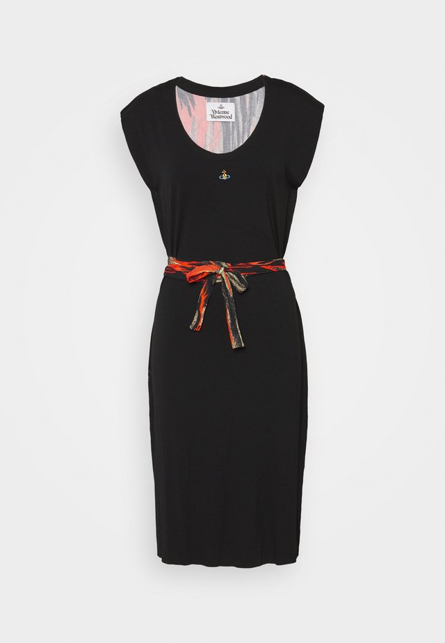 PILLOWCASE DRESS - Vestido informal - black