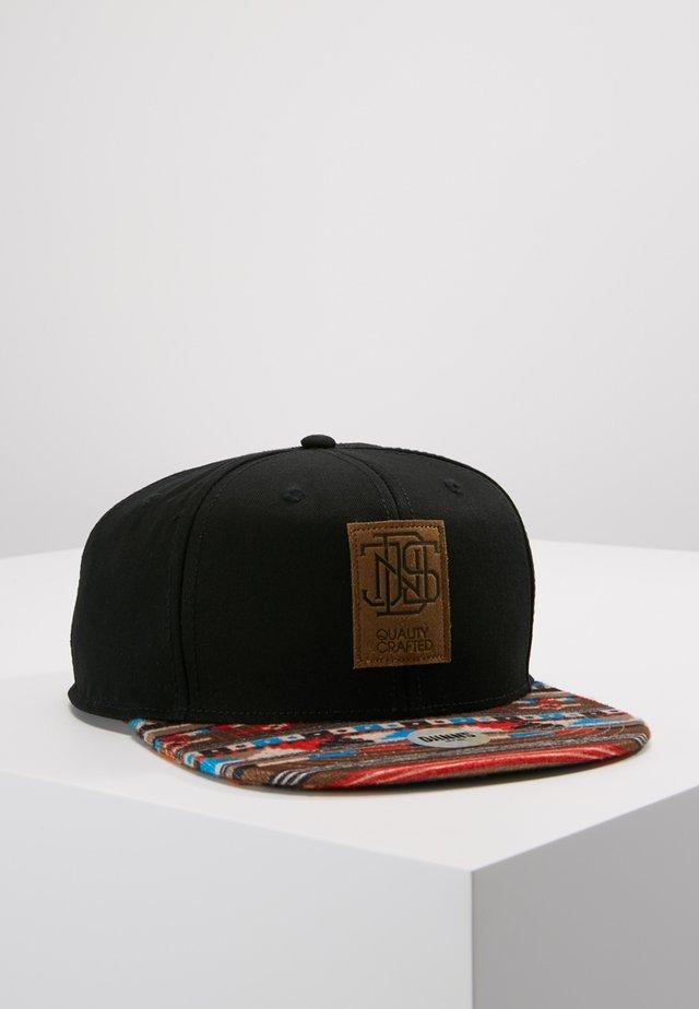 6P SNAPBACK AZTEC - Cappellino - black
