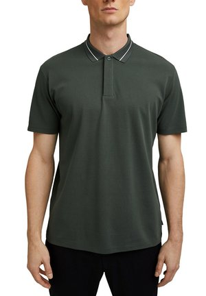 Polo - dark teal green