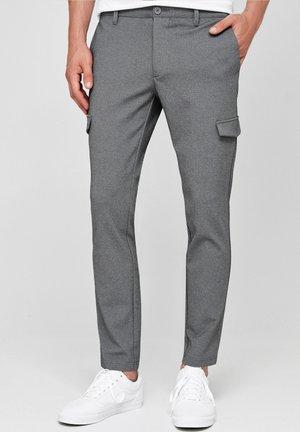 SUPER STRETCH ECKHART - Cargo trousers - grey mix