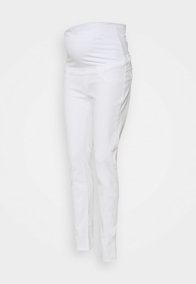 NEO SEAMLESS - Jeggings - white
