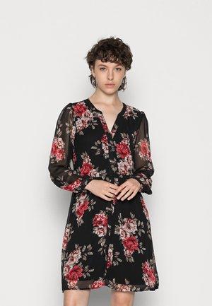 VIAMIONE DRESS - Paitamekko - black