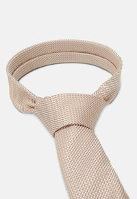 Burton Menswear London - CHAMPAGNE FLORAL SET - Pocket square - neutral - 4
