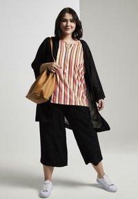 MY TRUE ME TOM TAILOR - Print T-shirt - mutlicolor stripe - 1