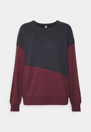 ONLDREAMER LIFE COLORBLOCK - Sweatshirt - night sky/port royale