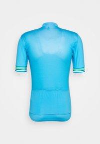 ODLO - STAND UP COLLAR FULL ZIP - Cyklistický dres - horizon blue - 1