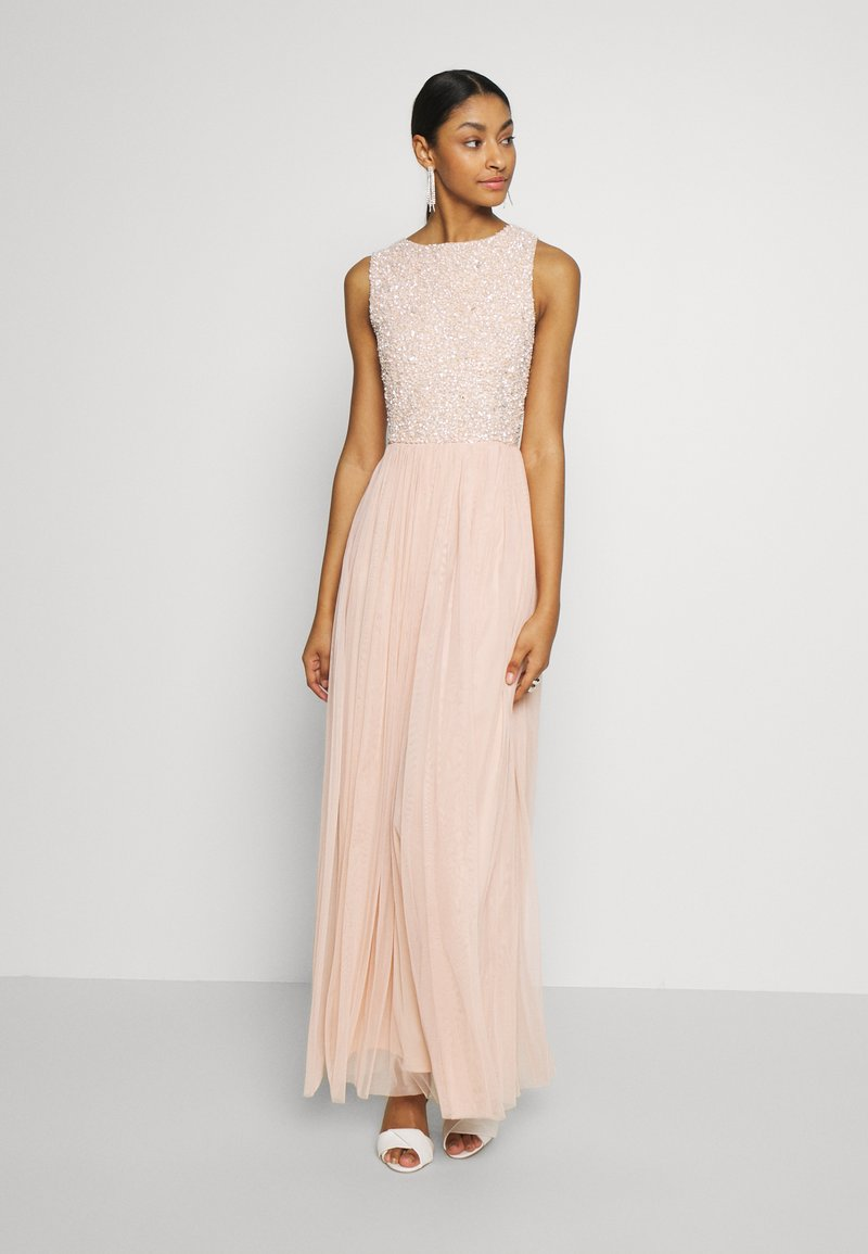 Lace & Beads - PICASSO MAXI - Occasion wear - nude