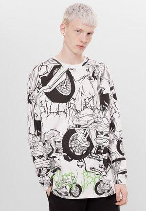 MIT PRINT BILLIE EILISH - Langærmede T-shirts - stone