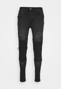 Brave Soul - BLAKE - Jeans Skinny Fit - charcoal - 3
