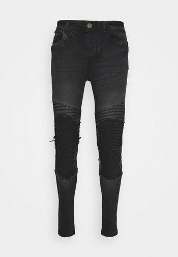 BLAKE - Jeans Skinny Fit - charcoal