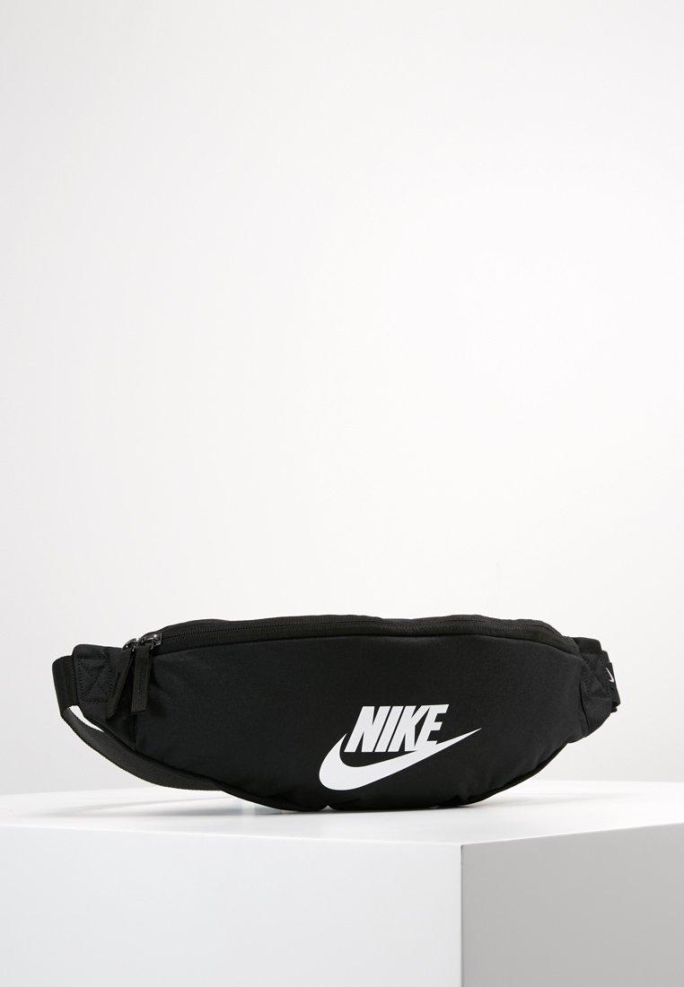Nike Sportswear - HERITAGE HIP PACK - Bæltetasker - black/white