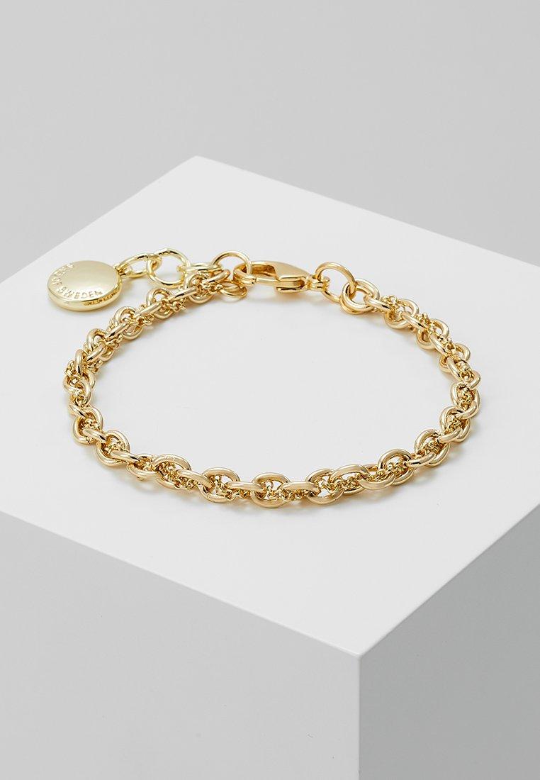 SNÖ of Sweden - SPIKE SMALL BRACE - Bracelet - plain gold-coloured