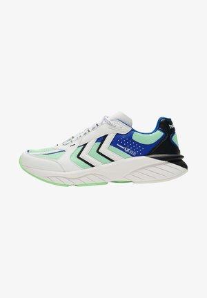 REACH LX - Trainers - white/blue/green ash