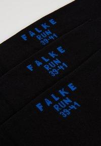 Falke - FALKE Run Mehrfachpack Socken 3 PACK - Socks - black - 2