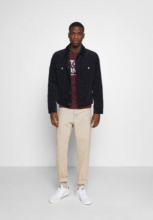 JJHERO TEE CREW NECK 2 PACK - T-Shirt print - navy blazer