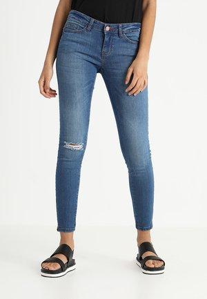 EVE LW ANKLE - Jeans Skinny Fit - medium blue denim