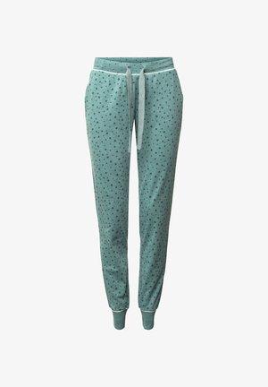 Pyjama bottoms - teal green