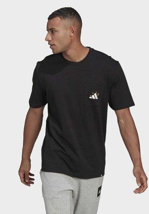 MANDALA GRAPHIC T-SHIRT - T-shirt med print - black
