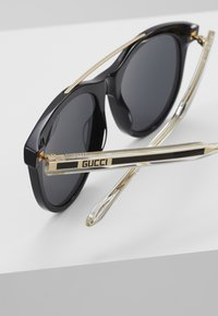 Gucci - Sunglasses - black/crystal/grey - 4