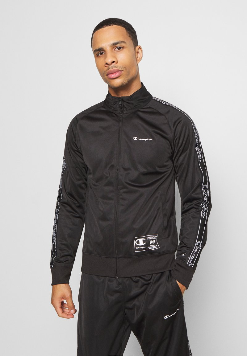 Champion - LEGACY TAPE TRACKSUIT SET - Tuta - black