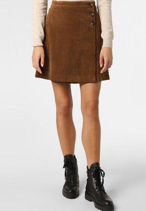 A-line skirt - nougat