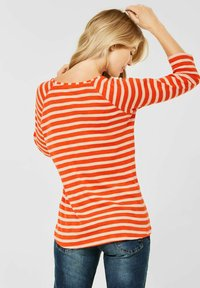 Cecil - MUSTER - Long sleeved top - orange - 1