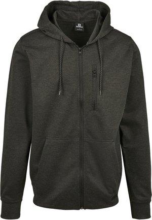 Zip-up hoodie - h.charcoal