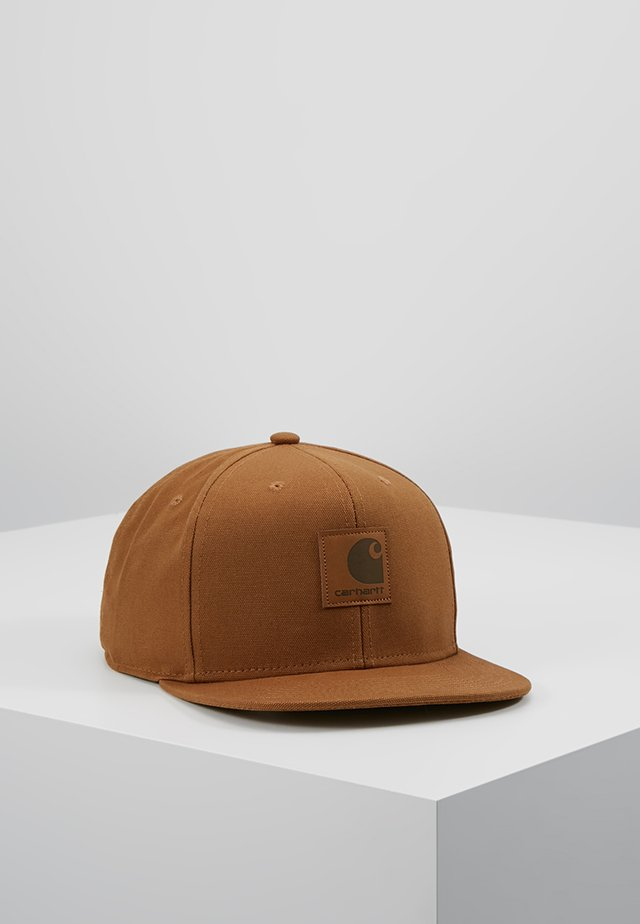 LOGO - Keps - brown