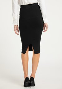 usha - Pencil skirt - schwarz - 2