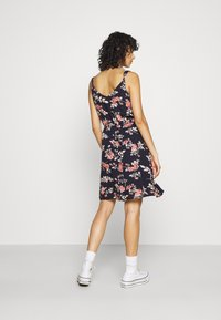 ONLY - ONLKARMEN DRESS - Robe d'été - night sky/rose - 2