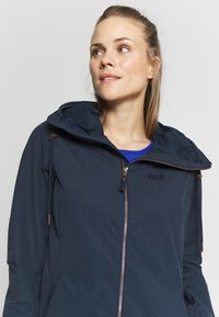 Jack Wolfskin - LAKESIDE JACKET  - Blouson - midnight blue - 3
