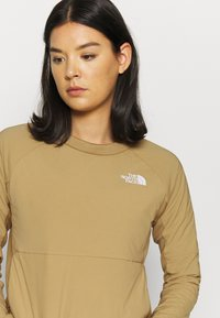 The North Face - W VENTRIX LT HYBRID PULLOVER - Outdoorjakke - moab khaki