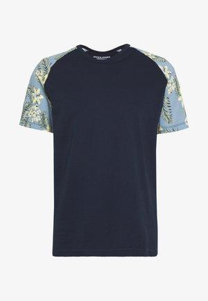 JORTROPIC TEE - Print T-shirt - navy blazer
