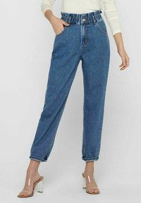 ONLY - Relaxed fit jeans - medium blue denim - 0
