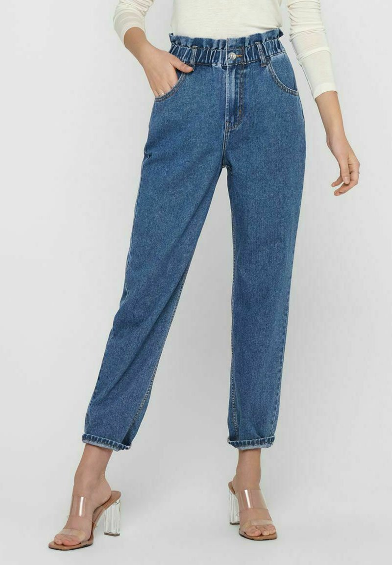 ONLY - Relaxed fit jeans - medium blue denim
