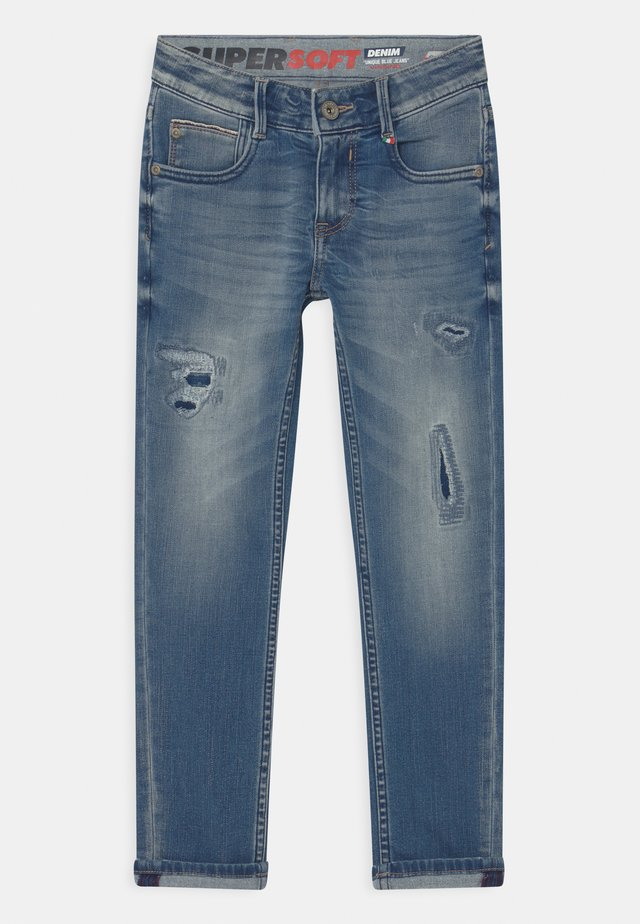 AMOS - Jeans a sigaretta - blue vintage
