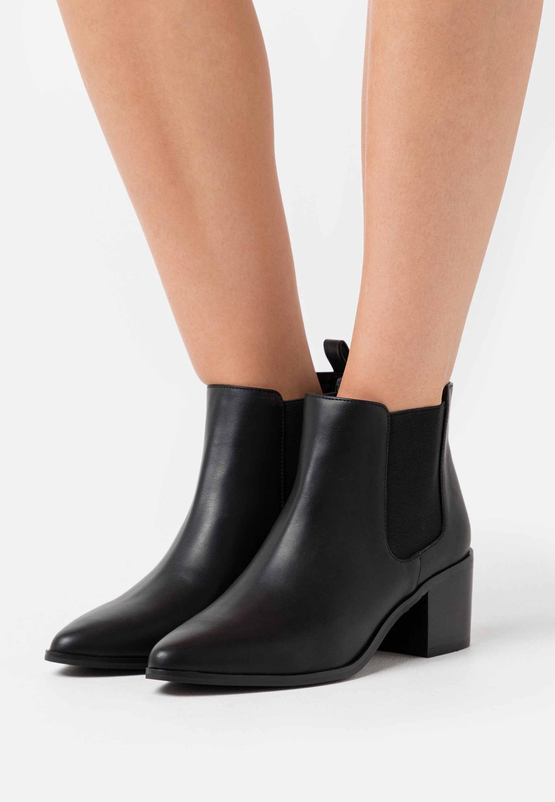 2020 Collections Women's Shoes Bianco BIAABBIE CHELSEA  Ankle boots black RQgQ92GKY iMpOTF95V