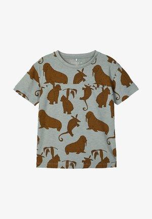 Print T-shirt - abyss