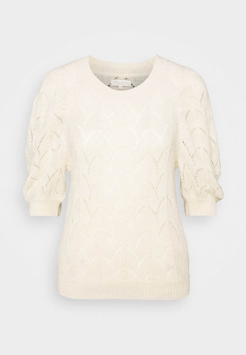 Part Two - Print T-shirt - parchment