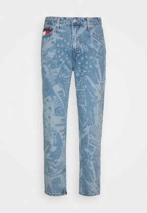 DAD JEAN STRAIGHT - Jeans Straight Leg - laser light blue rigid