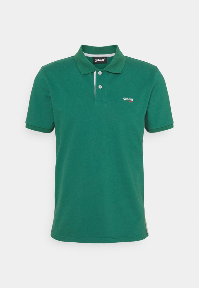 PSMILTON - Polo shirt - green/grey