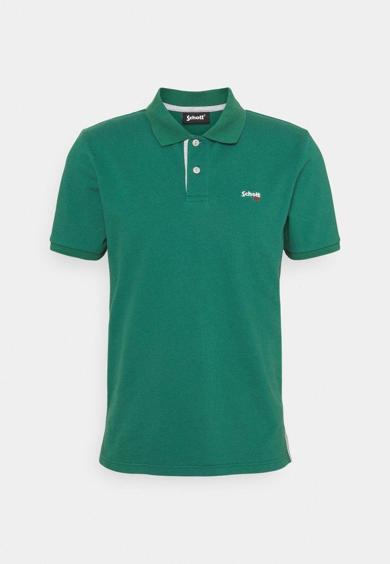 Schott - PSMILTON - Polo shirt - green/grey