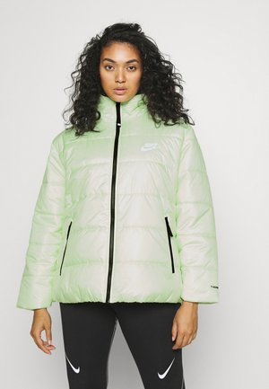 CLASSIC PLUS - Winter jacket - lime ice/black/white