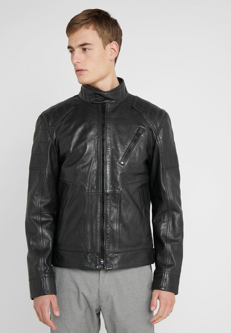 JOOP! Jeans - LIMA - Læderjakker - black