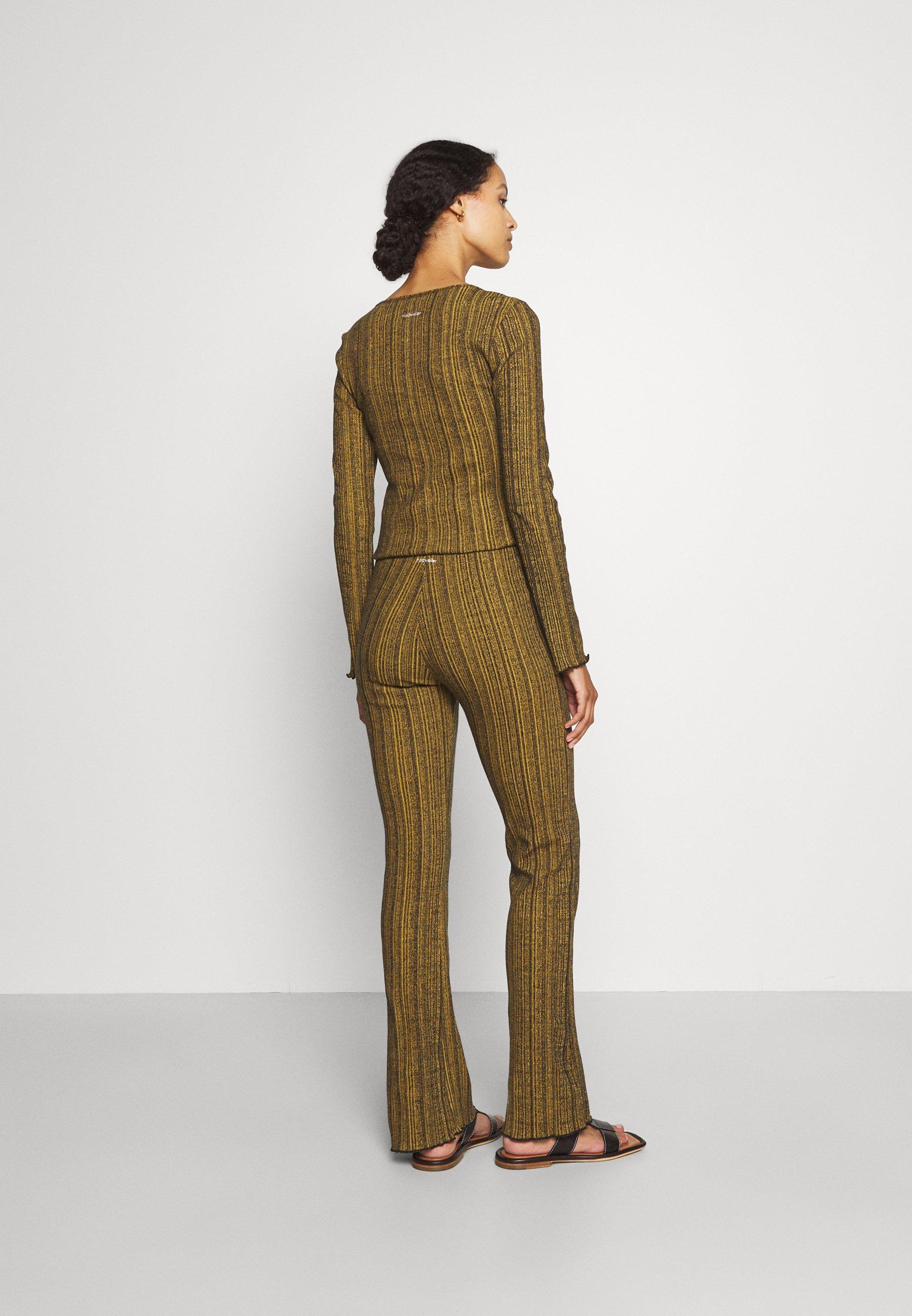 Women TOULOUSE MELANGE TROUSER - Trousers