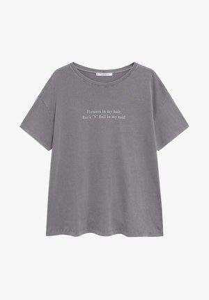 SOUL - T-shirts print - gris