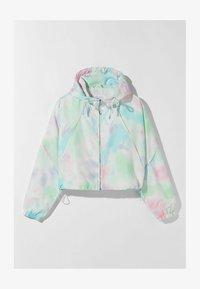 Bershka - MIT KAPUZE  - Summer jacket - turquoise - 4